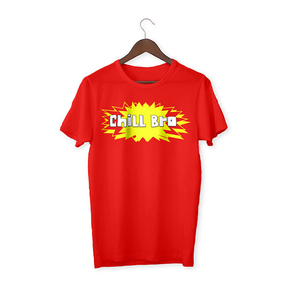 Chill bro Red Unisex T-Shirt