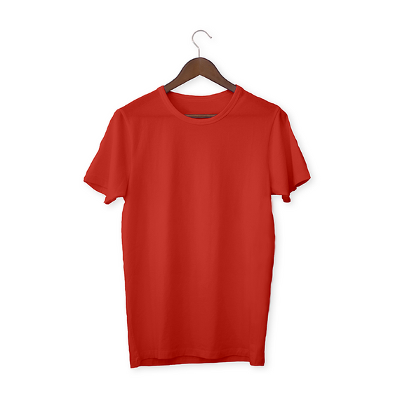 Brick Red solid Unisex T-Shirt