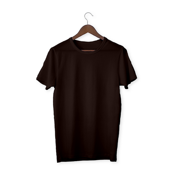 Coffee brown solid Unisex T-Shirt