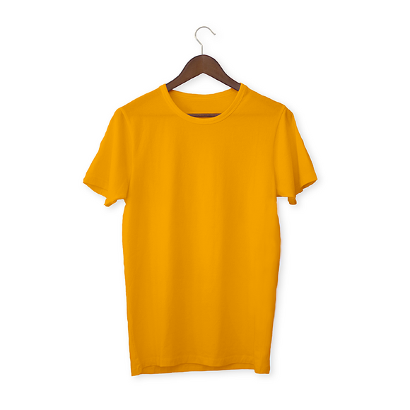 Golden yellow solid Unisex T-Shirt