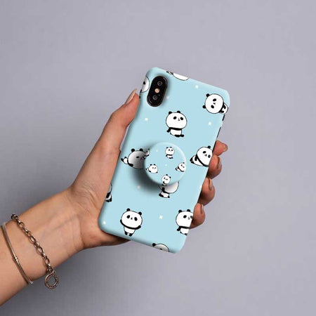 Gripper Case With Blue panda