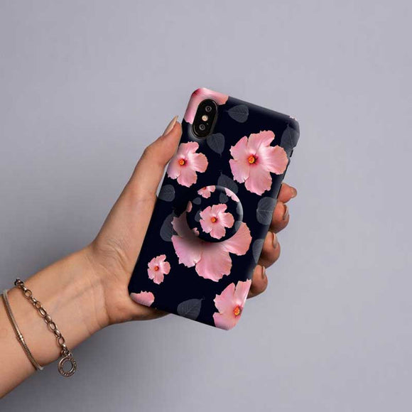 Gripper Case With Rose flowers