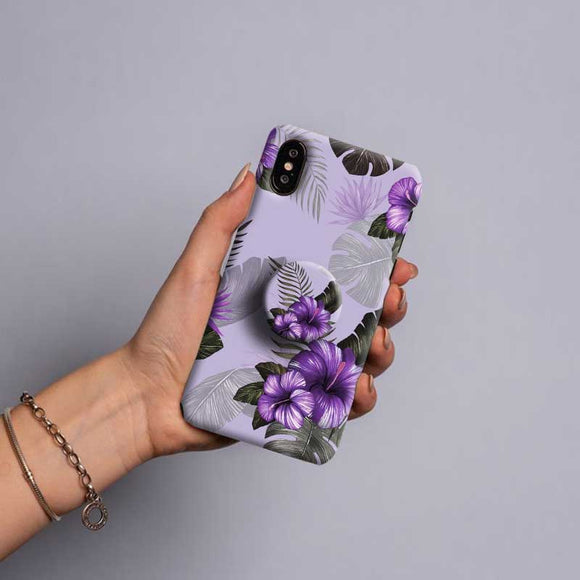 Gripper Case With Lavender flower