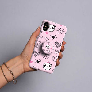 Gripper Case With Pink Panda