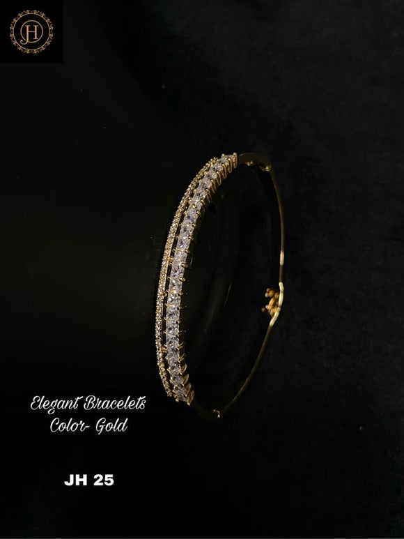 Gold Plated Bracelet with stone
