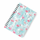 Flamingo blue A5 Spiral Notebook