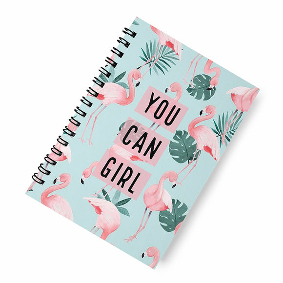 You can girl A5 Spiral Notebook