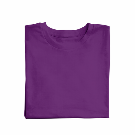 Purple solid Unisex T-Shirt