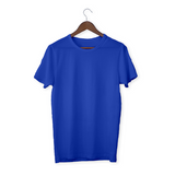 Royal blue solid Unisex T-Shirt