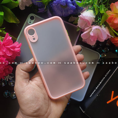 Pinky Orange Smoke Case Matte Premium Look