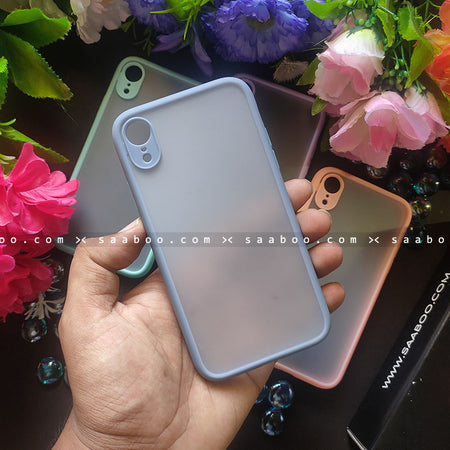 Pastel Grey Smoke Case Matte Premium Look