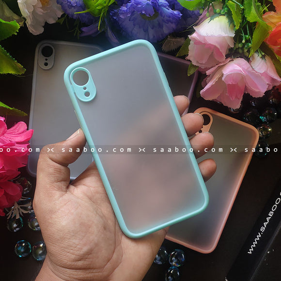 Ice Blue Smoke Case Matte Premium Look