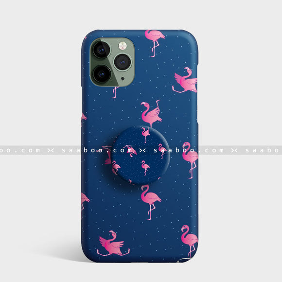 Blue Flamingo Case