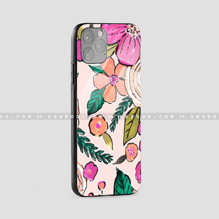Glass Case With Animation Flower