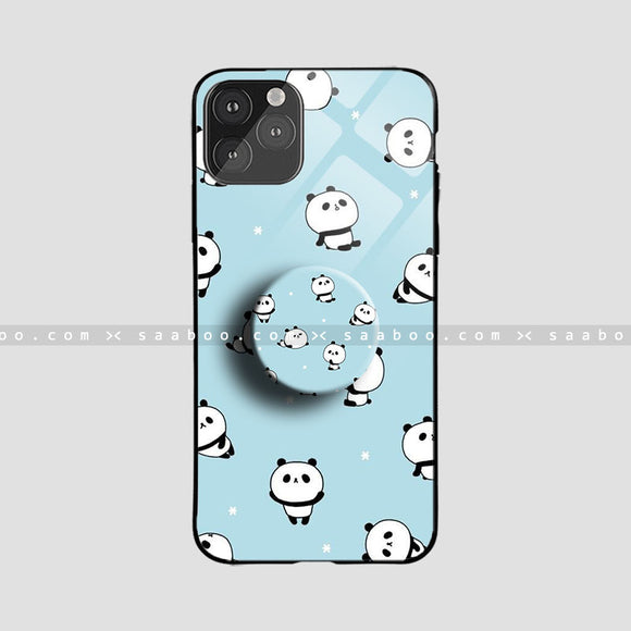 Glass Case With Panda