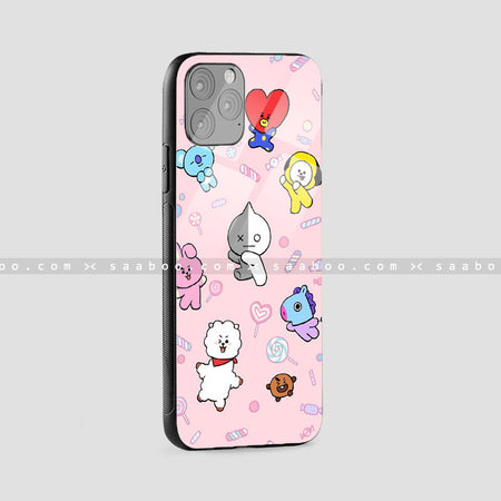 Glass Case With BTS Design