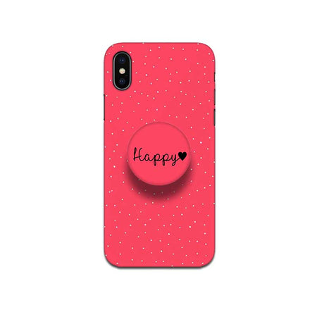 Gripper Case With Red Rose Dots Name