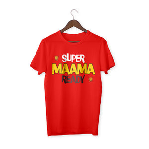Super maama ready Red Unisex T-Shirt
