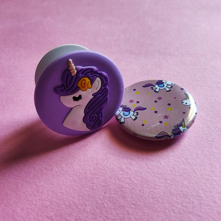 Stationery - saaboo - Unicorn Lavender Combo