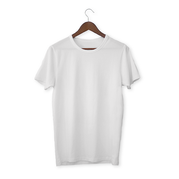 White solid Unisex T-Shirt