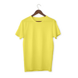 Yellow solid Unisex T-Shirt