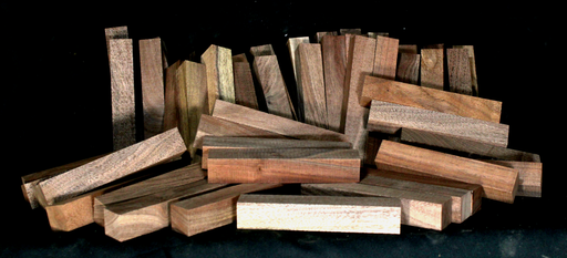 Claro Walnut Pen Blanks