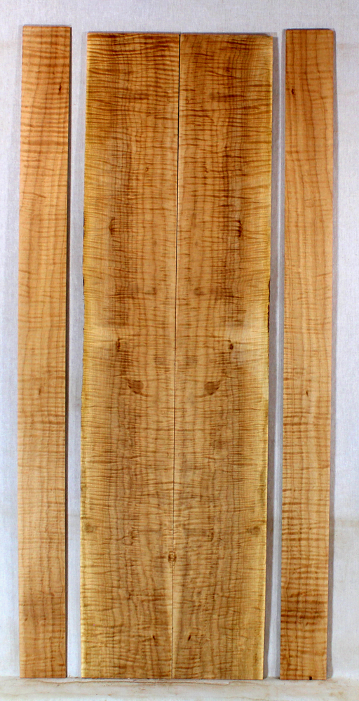 Maple Dulcimer Back and Sides (BK17)