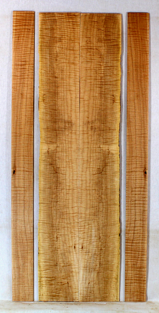 Maple Dulcimer Back and Sides (BK19)