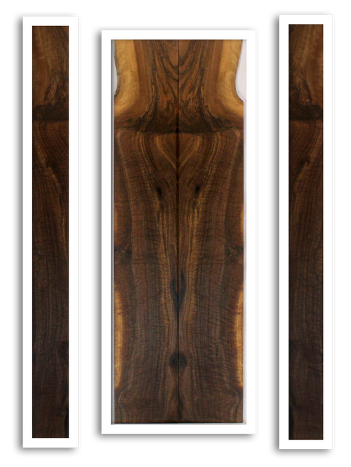 Walnut Dulcimer Back and Sides (GC11)