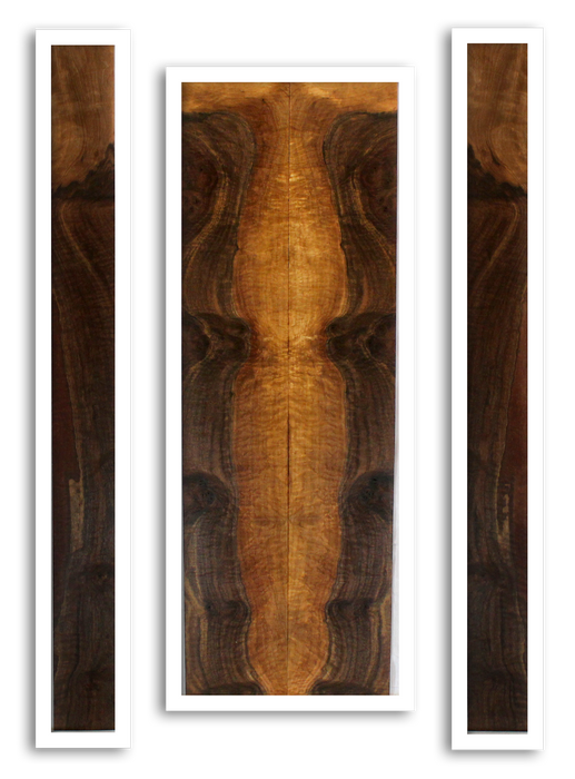 Walnut Dulcimer Back and Sides (GC13)