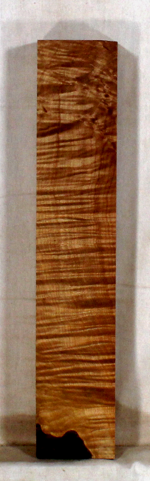 Maple accent piece for bow riser