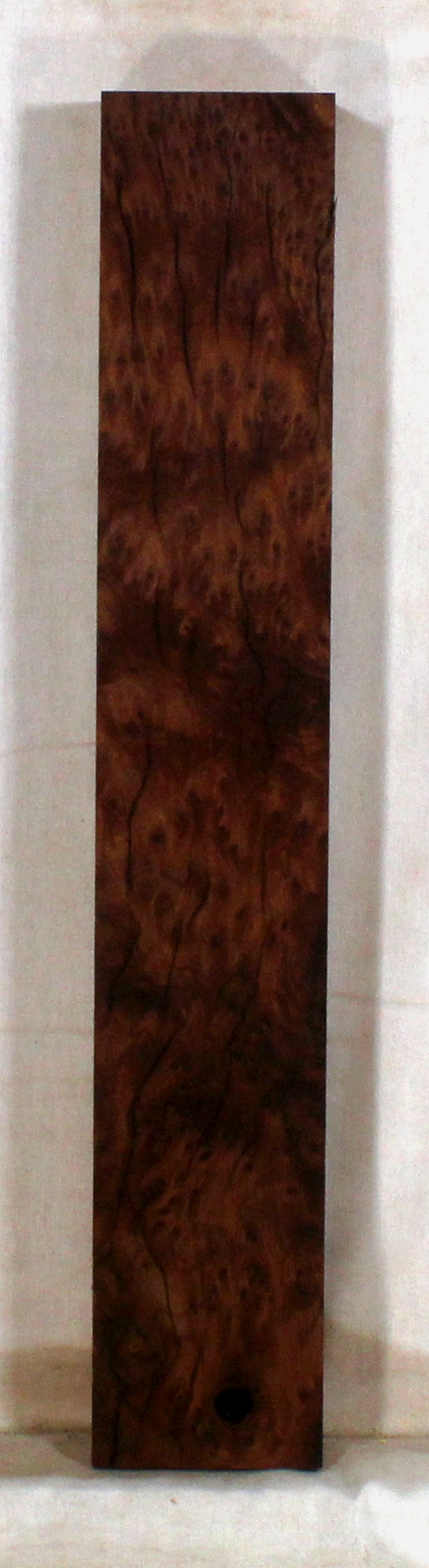 Redwood accent piece for bow riser