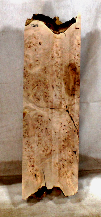 Maple Burl Accent Piece for Bow Riser (TD14)