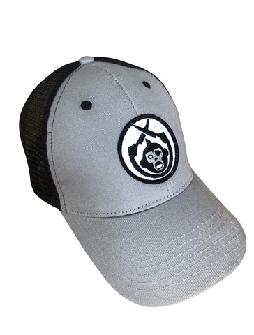 Monkey Knife Fight Trucker Hat