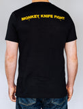 Monkey Knife Fight Men's Short Sleeve T-Shirt