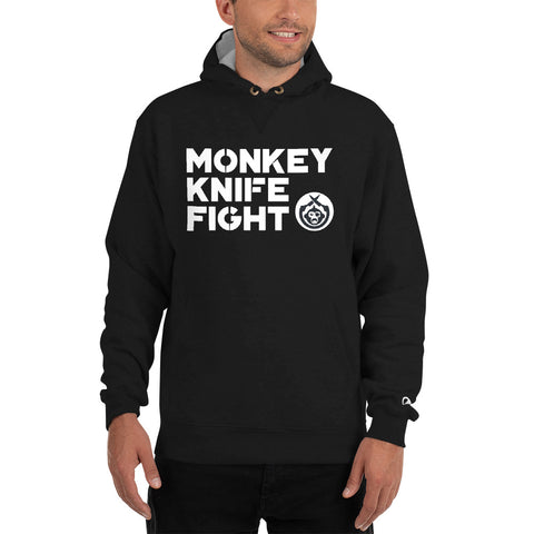 Monkey Knife Fight Signature Champion Hoodie