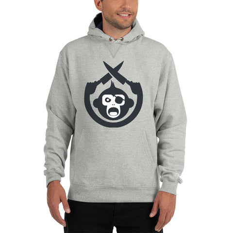 Monkey Knife Fight Original Champion Hoodie