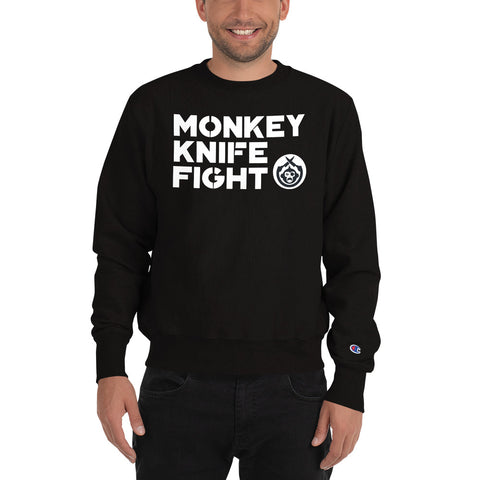 Monkey Knife Fight Signature Champion Sweatshirt