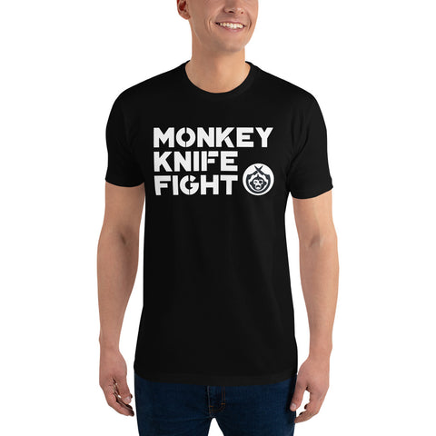 Monkey Knife Fight Signature Short Sleeve T-shirt