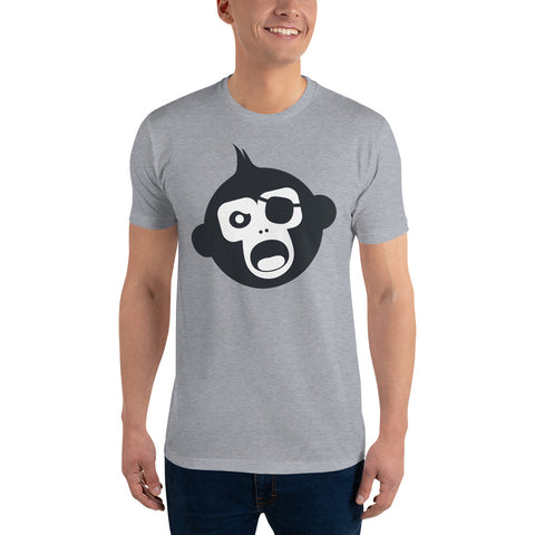 Monkey Knife Fight No Knives Short Sleeve T-shirt