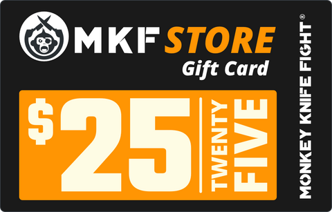 Official Monkey Knife Fight Store Gift Cards
