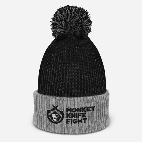 Monkey Knife Fight Signature Pom-Pom Beanie