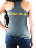 Monkey Knife Fight Women's Tank Top
