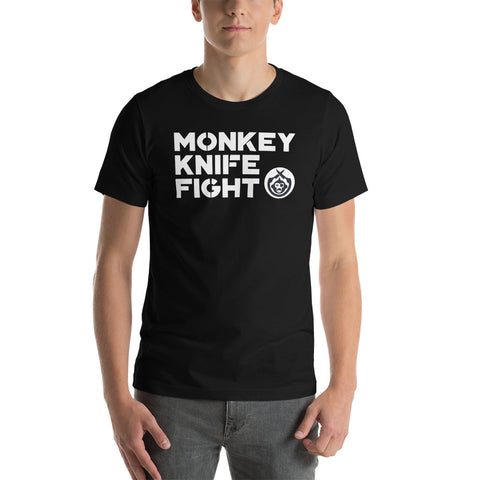 Monkey Knife Fight Signature Short-Sleeve Unisex T-Shirt