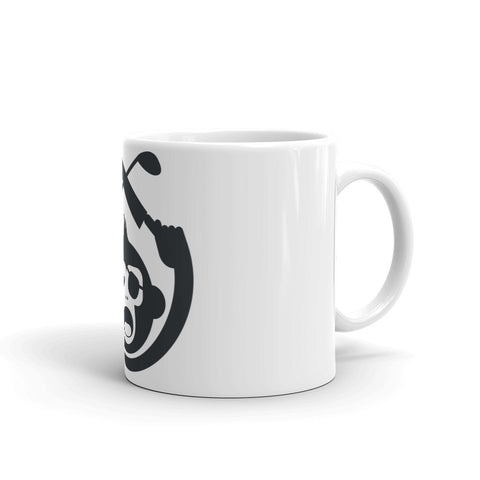 Monkey Knife Fight Original Golf Mug