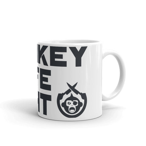 Monkey Knife Fight Signature Mug