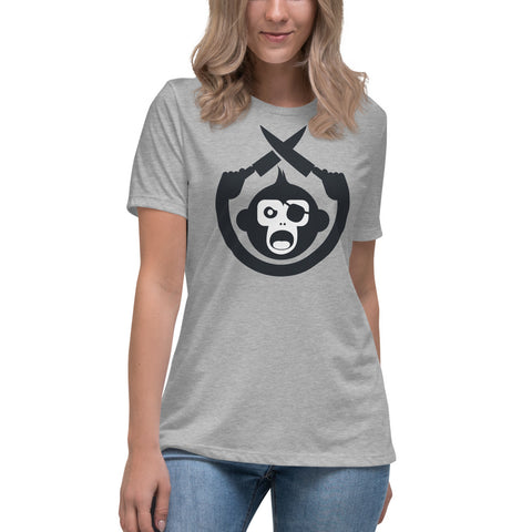 Monkey Knife Fight Original Women's Relaxed T-Shirt