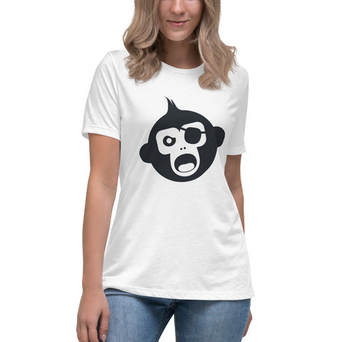 Monkey Knife Fight No Knives Women's Relaxed T-Shirt