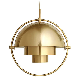 Gubi Hanglamp Multi-Lite hanglamp Messing / Shiny Brass 10014449