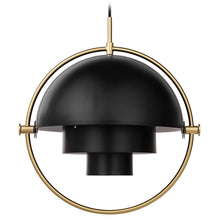 Afbeelding in Gallery-weergave laden, Gubi Hanglamp Multi-Lite hanglamp Messing / Soft Black 10014446